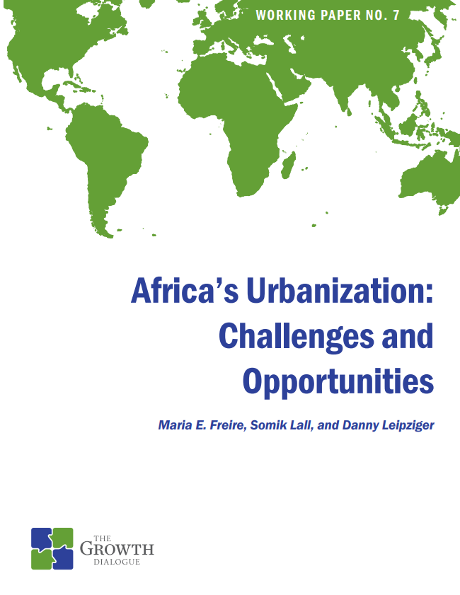 Africa's Urbanization: Challenges and Opportunities