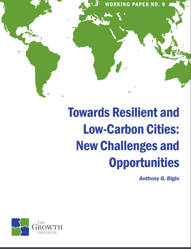 Towards Resilient and Low-Carbon Cities: New Challenges and Opportunities