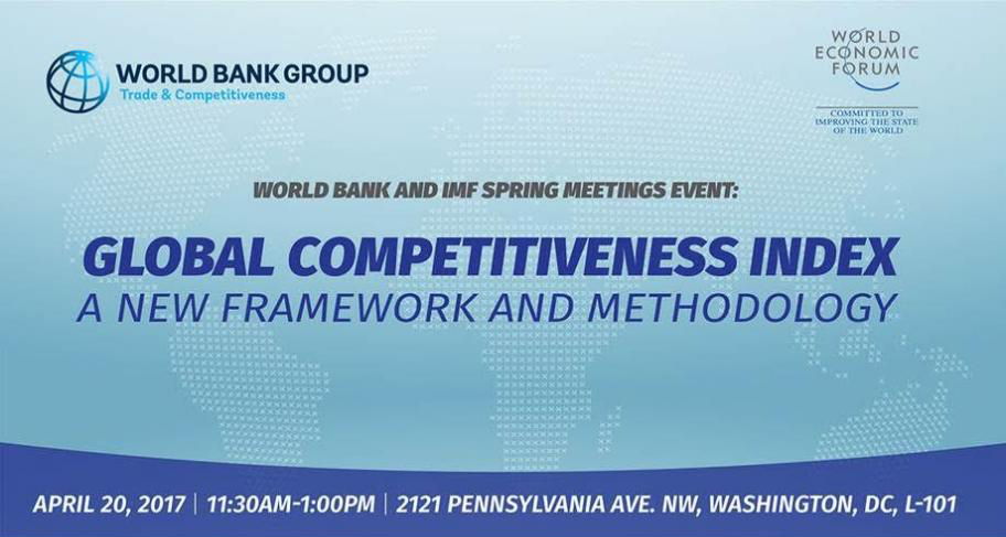 Global Competitiveness Index: A New Framework and Methodology